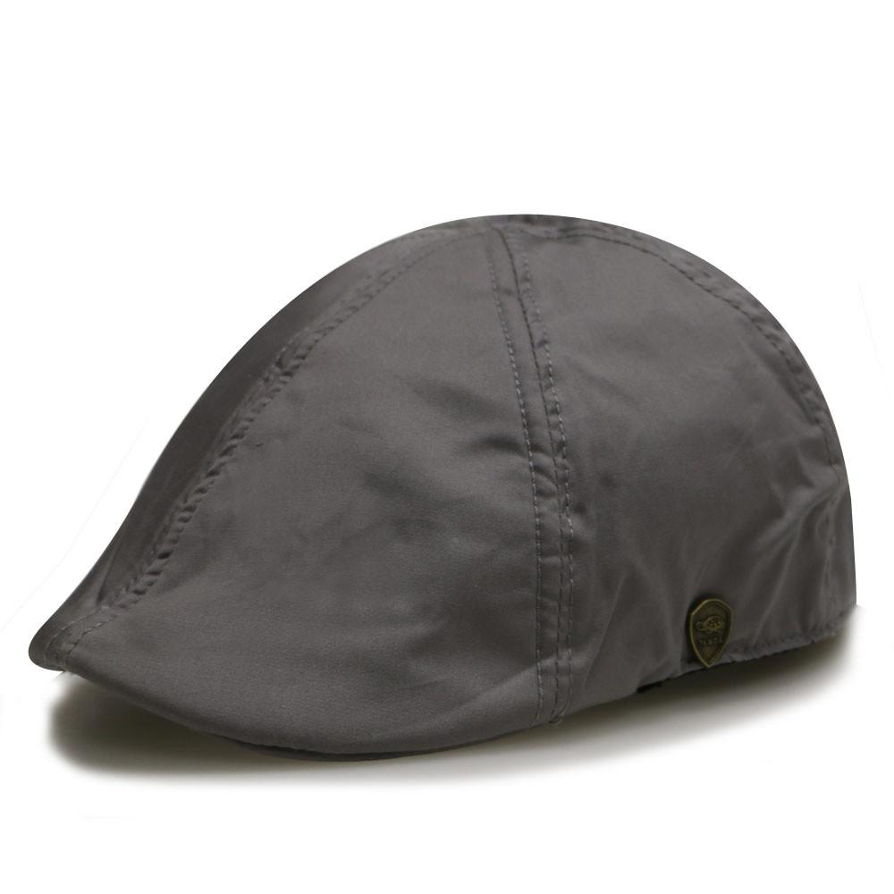 --Pamoa, Pamoa Pmv741 Solid Cotton Duckbill Ivy Cap, Accessories--