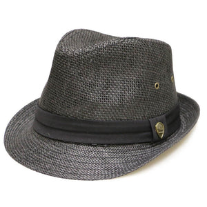 Pamoa, Pamoa Pms500 Solid Paper Toyo Trilby Straw Fedora Hat, Accessories