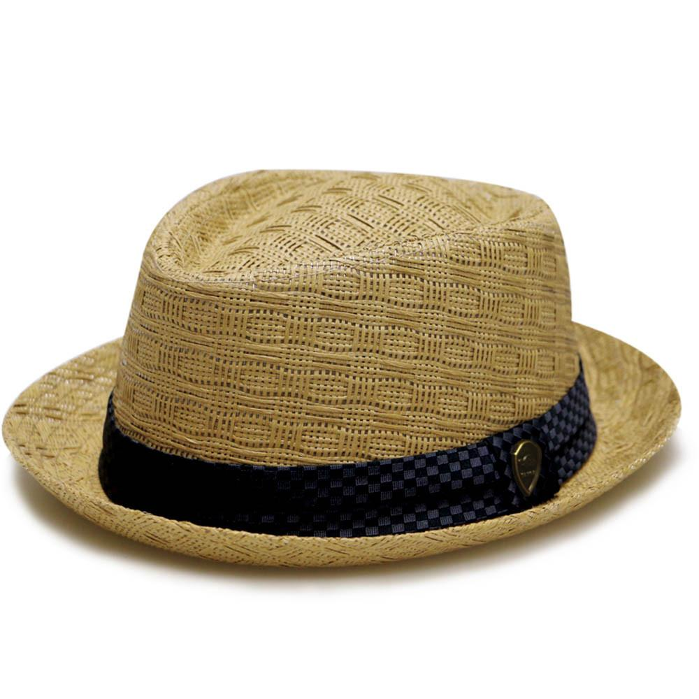 Pamoa, Pamoa Pms540 Summer Porkpie Straw Fedora, Accessories, Hot Sale Product - Leez Department Store