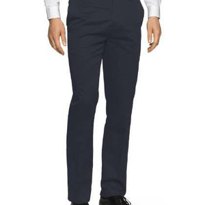 Calvin Klein, Calvin Klein Men's Slim Fit Refined Twill Pant Office Navy,