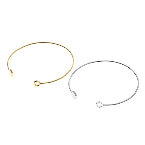 MZUU, double hex choker, Accessories
