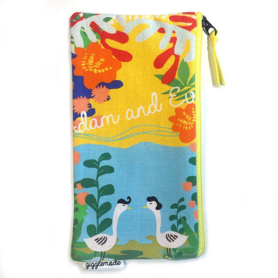 Giggle Mode, adam & eve pencil pouch, Accessories, Hot Sale Product - Leez Department Store