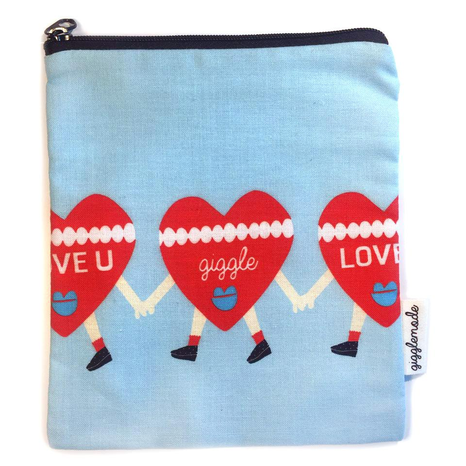 Giggle Mode, heart pouch, Accessories, Hot Sale Product - Leez Department Store