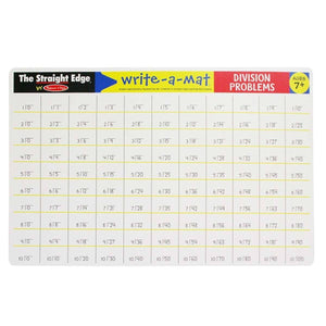Melissa & Doug, Melissa & Doug - Division Problems Write-A-Mat, Toys