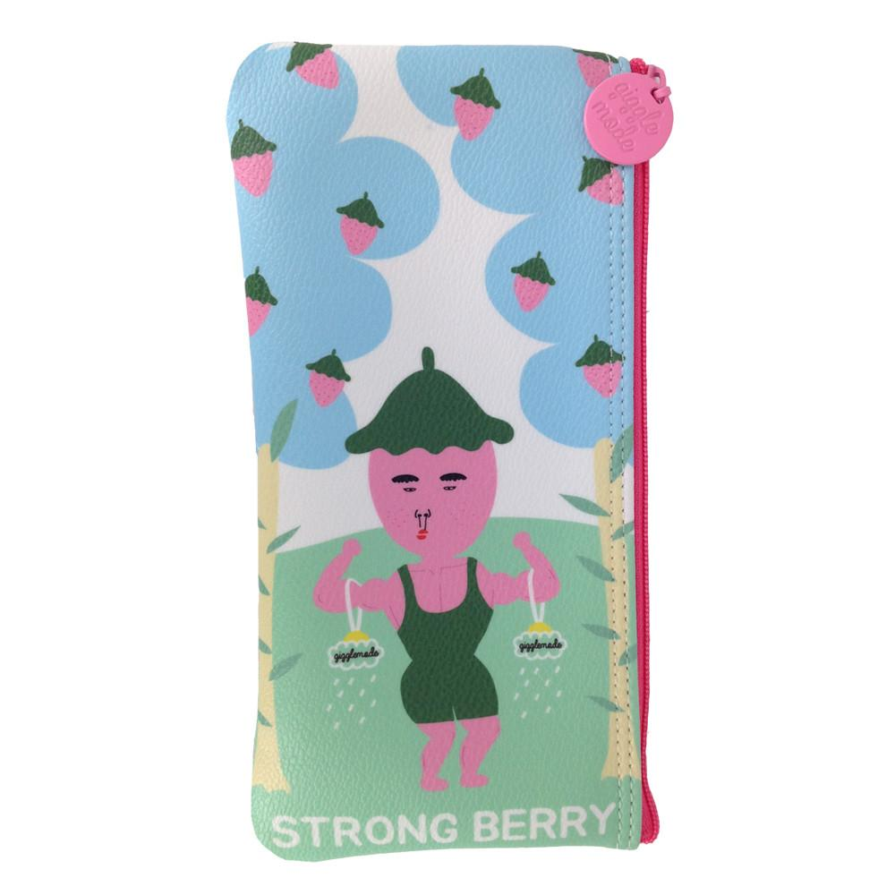 strong berry pencil pouch