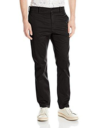 --LEVI, LEVI 511 SLIM CHINO G BLACK CRUZ TWILL WT, MENS CHINO--