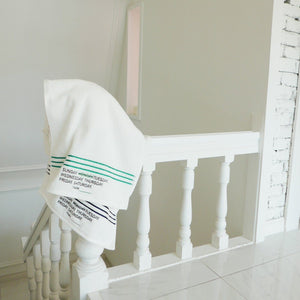 I hate Monday, Stripe Towel SET, Accessories