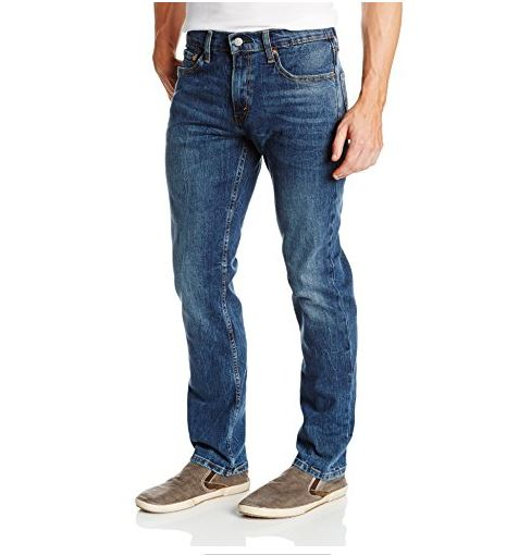 --Levi's Men's 511 SLIM FIT Jean Black stone--