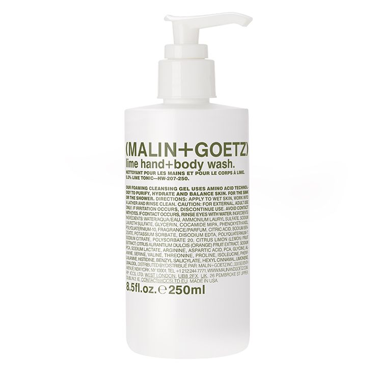 MALIN + GOETZ lime hand + body wash 8.5fl.oz./250ml