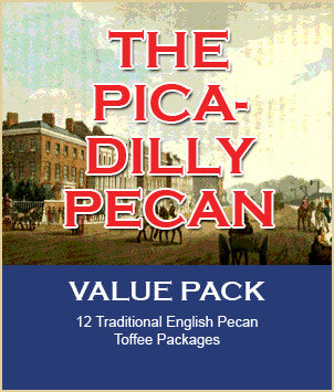 THE PICADILLY PECAN  Toffee Value Pack
