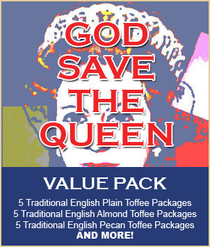 GOD SAVE THE QUEEN Toffee Value Pack