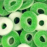 SOUR GUMMI RINGS -Apple