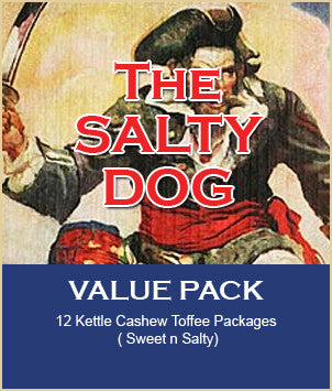 THE SALTY DOG Toffee Value Pack