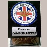 Banana Almond Toffee