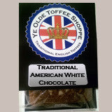Traditional American White Chocolate Almond Toffee