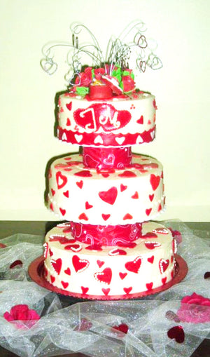 Cherie LaMoure wedding cake
