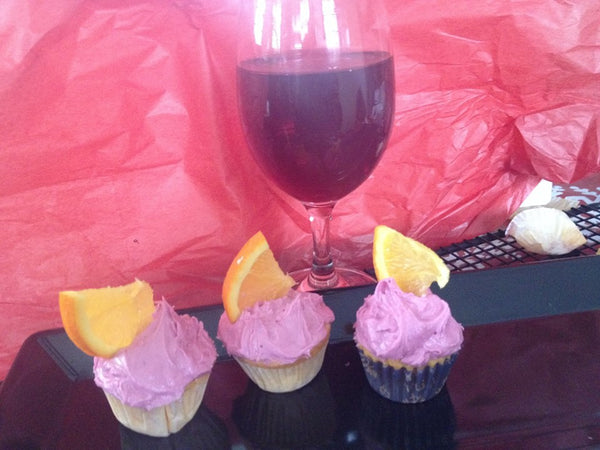 Margarita Lime Cupcakes, Cassata Cake with Rum and Wine Infused Cupcakes