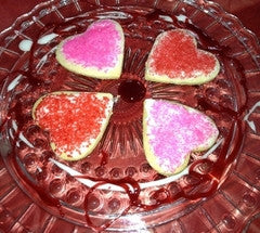 Heart Cakes, Breads and Cookies
