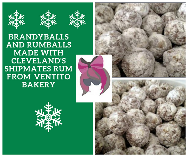 Rumballs and Brandyballs for the Holidays