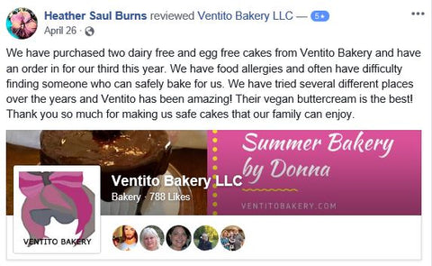 Dairy Free Egg Free Cupcake Review
