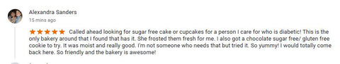 Sugar free cookie review