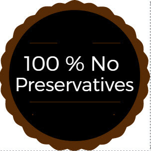 100% No Preservatives