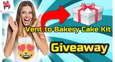 Ventito Bakery Regular, Sugar-Free, Gluten-Free, and Dairy-Free Cake Kit Giveaway