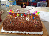 Customize your Birthday Cake