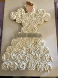 Bridal Shower Cake made of Cupcakes