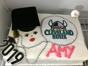 2021 Graduation Cake by Ventito Bakery traditional or gluten free