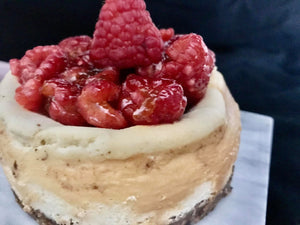 Personal Size Crustless Keto Cheesecake - 4 count