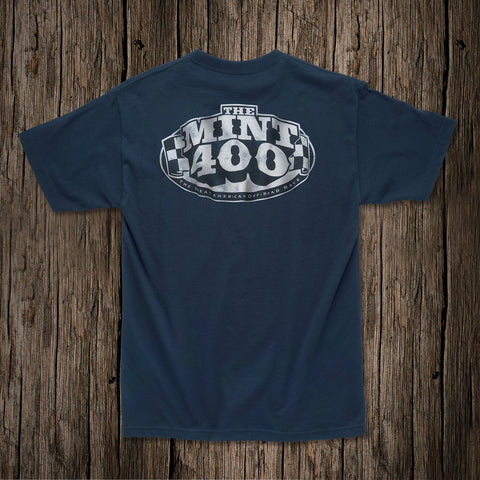 "2017 Mint 400 ""OG"" Logo T-shirt - (Blue)"