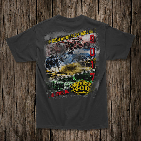 "2017 Mint 400 ""Shredded"" T-shirt"