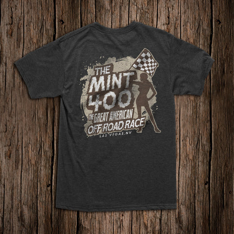 Mint 400 Flag Girl T-Shirt