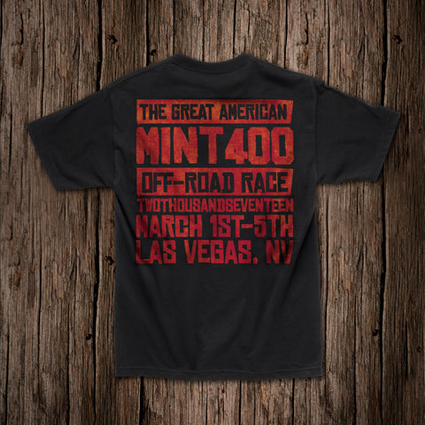 "2017 Mint 400 ""Word"" T-Shirt"