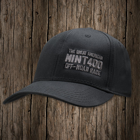 2017 Mint 400 BAR Logo Flex-Fit Hat