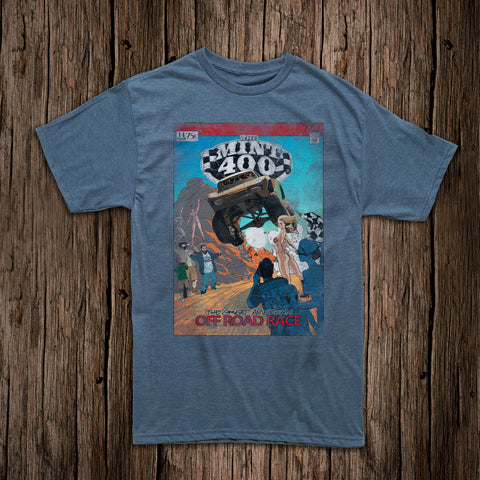 Mint 400 Comic Hero T-Shirt