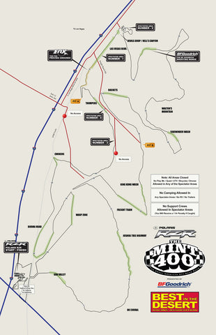 2016 Souvenir Race Map