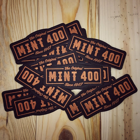 The Original Mint 400 Patch