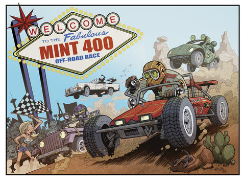 2016 Limited Edition Mint 400 Poster