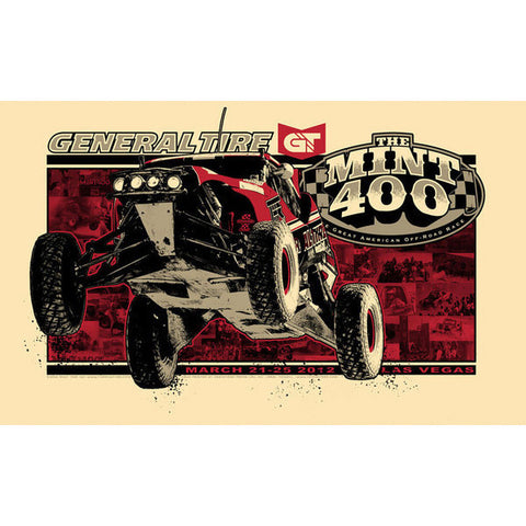 2012 Limited Edition Mint 400 Poster (Signed by artist, numbered)