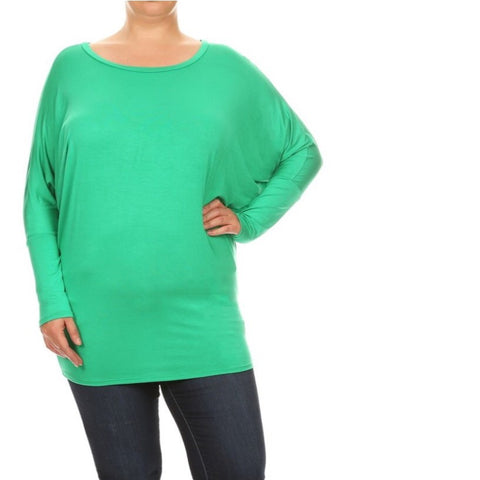 Solid Dolman: Green
