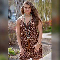 Wild Ride Dress: Leopard