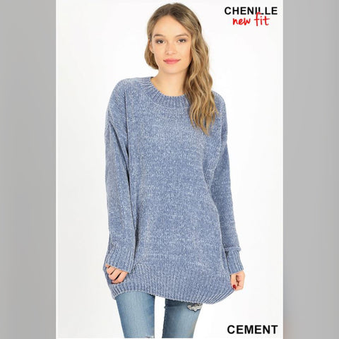 Warm & Cozy Sweater: Cement