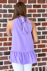 Escape with Me Top: Lavender