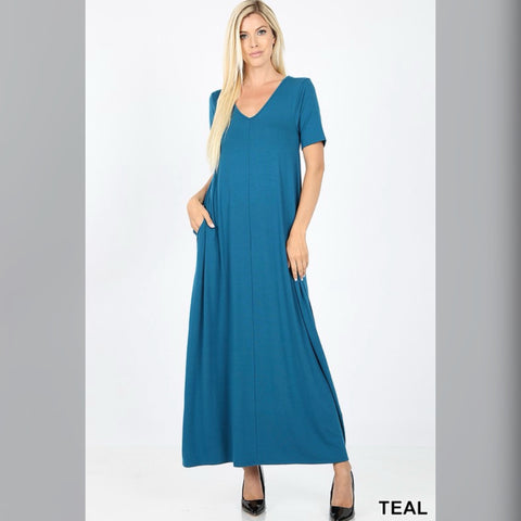 Flow with it Maxi: Teal