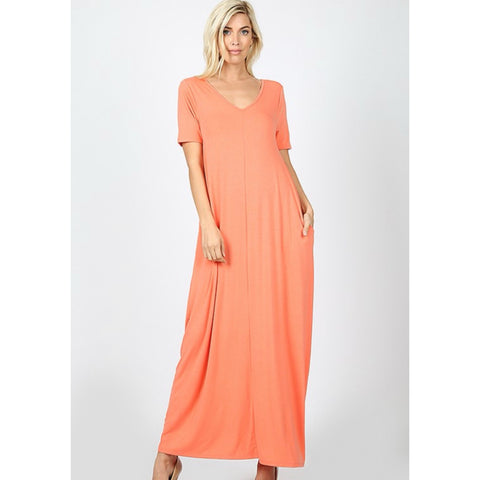 Flow with it Maxi: Deep Coral
