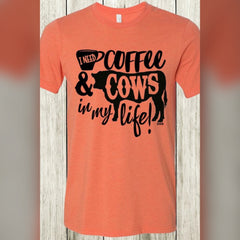 Coffee & Cows Graphic Tee