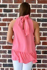 Escape with Me Top: Coral Pink