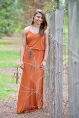 Think Again Maxi: Burnt Orange